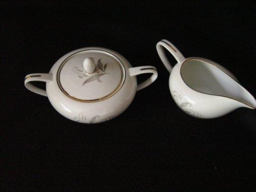 Vintage Kaysons China Golden Rhapsody Sugar Bowl & Creamer