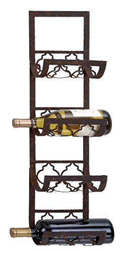 7 bottle wall wine rack - 2