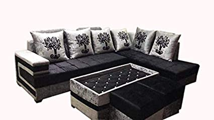 Cool Quality Assure Furniture B L Shape Sofa Set With Center Download Free Architecture Designs Scobabritishbridgeorg