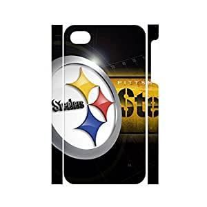 Colorful Frame Glossy Funny Famous Football Team Logo Hard Plastic Skin for iPhone 6 plus Case