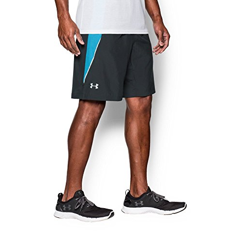 """Under Armour Men's Launch 9"""" Run Shorts, Anthracite (016), X-Large"""