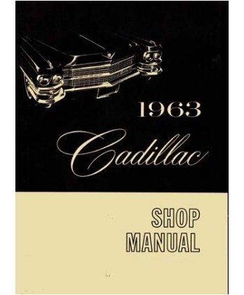 1963 Cadillac 60 62 75 Fleetwood Shop Service Repair Manual Engine Electrical