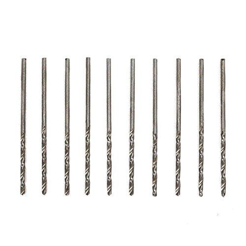 57 Micro Mini - 10pc Mini Micro High Speed Steel Twist Wire Gauge Drill Bit #57 0.0425