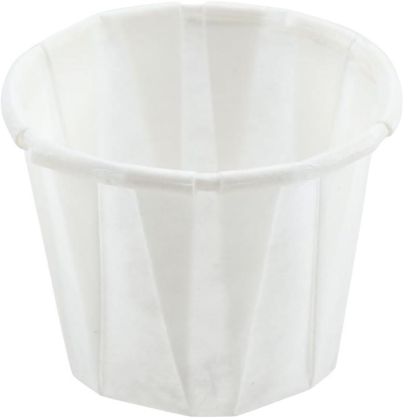 SOLO Paper Medicine Cups - 1/2 oz., Box of 250