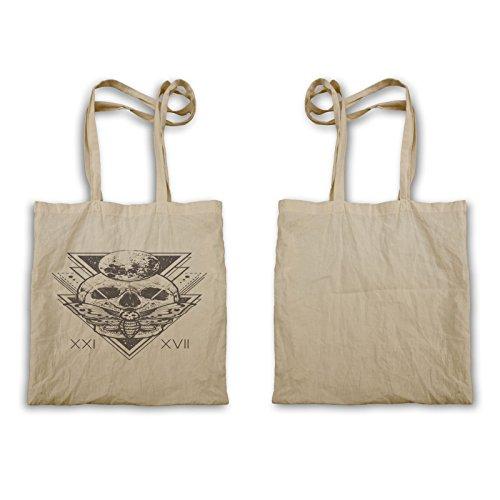 Teschio Sacro Geometria Tote Bag U400r