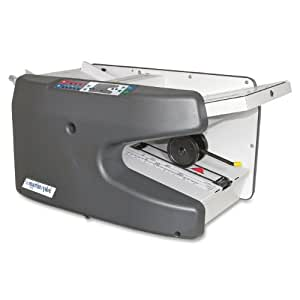 Martin Yale Electronic Ease-of-Use AutoFolder, Handles Paper Weight from 16 Pound Bond to 70 Pound Index, Charcoal (PRE1711)
