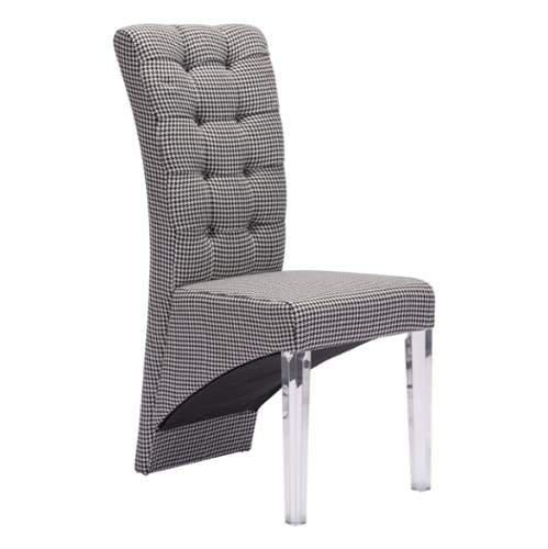 Zuo Modern Waldorf Dining Chair, Houndstooth (Waldorf Store)