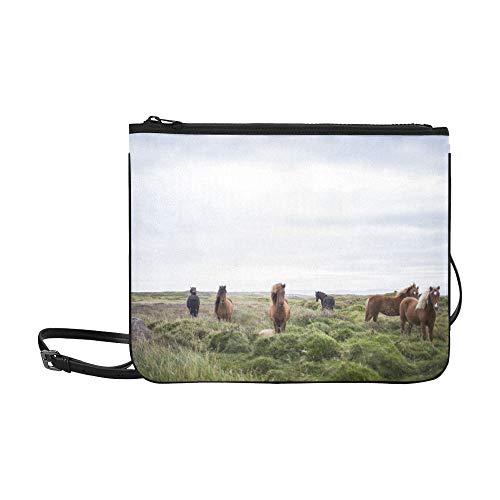 Free Stock Clipart - Public Domain Images Free Stock Photos Animals Far Pattern Custom High-grade Nylon Slim Clutch Bag Cross-body Bag Shoulder Bag