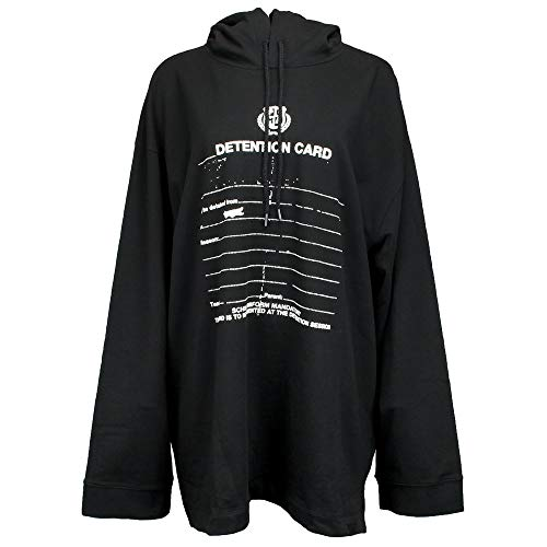 PUMA x Fenty by Rihanna Long Sleeve Graphic Hoodie Cotton Black LG (Shirts With Weed Logo)