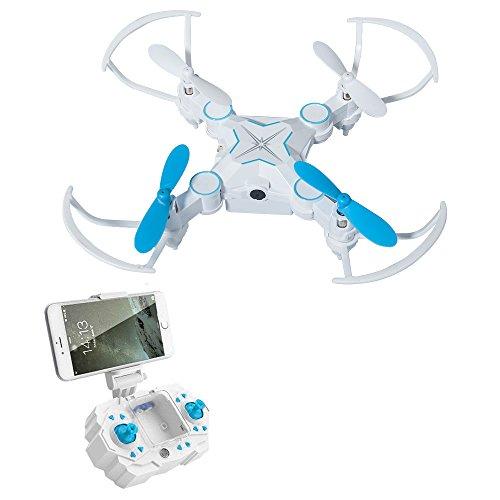 Rc Quadcopter,ToyPark Mini Foldable FPV VR Wifi Remote Control Drone  with HD 720P Camera