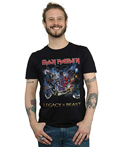 Iron Maiden Men's Legacy of The Beast T-Shirt Black XXX-Large