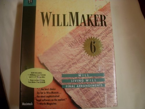 Intel WillMaker 6 Legal Will, Living Will, Final Arrangem...