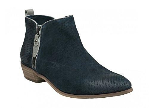 Piazza Piazza Damen Stiefelette - Botas de Piel para mujer Azul azul Azul - azul