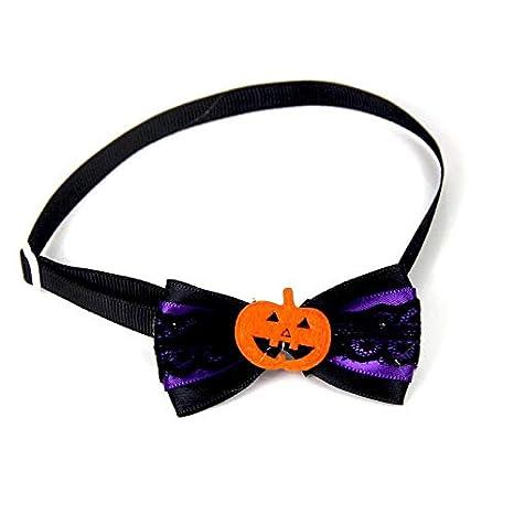 Canaan_Z - Corbata de Halloween para Mascotas, Gatos, Perros ...
