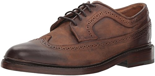 Frye Menns Jones Wingtip Oxford Redwood