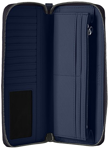 XLARGE WRISLET ZIP WALLET, NF2498DC Wallet, PEACOAT, One Size by Lacoste (Image #4)