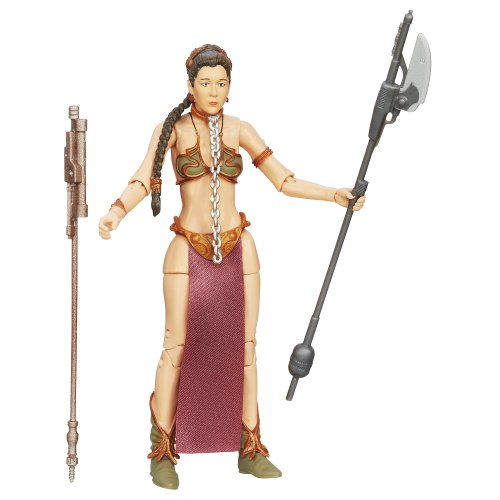 Star Wars The Black Series Princess Leia (Slave Outfit) Figure 6  Inches]()