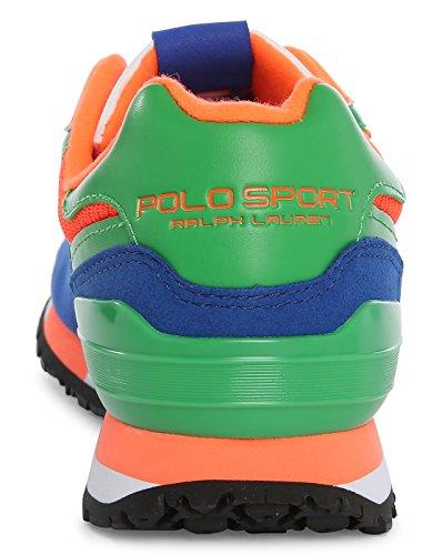 POLO Ralph Lauren - Baskets basses - Homme - Sneakers Slaton Polo Bleu Multi pour homme