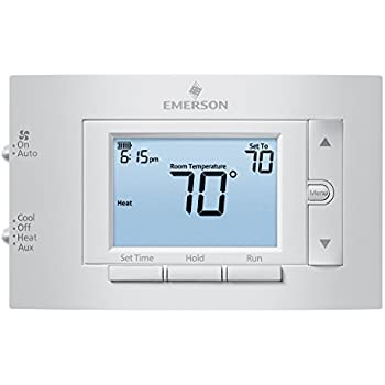 Emerson 1F83H-21PR Heat Pump (2H/1C) Programmable Thermostat