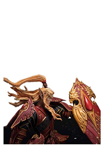 (Wow Blood ELF Paladin: QUIN'THALAN SUNFIRE Action Figure Collectable Model Toy)