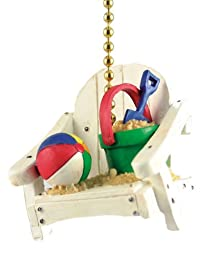 Tropic Tiki Island Beach Chair Decor Ceiling Fan Pull