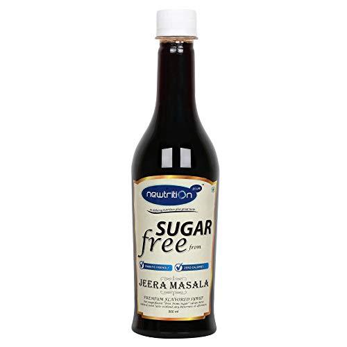 Newtrition Plus Jeera Masala – Sugar Free Syrups 500 ml