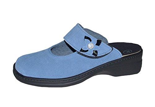 Blau Ladies 5948 Bleu Algemeen Sabots 8681 nSxXHxA1q
