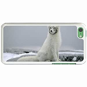 Custom Fashion Design Apple iPhone 5C Back Cover Case Personalized Customized Diy Gifts In Arctic White