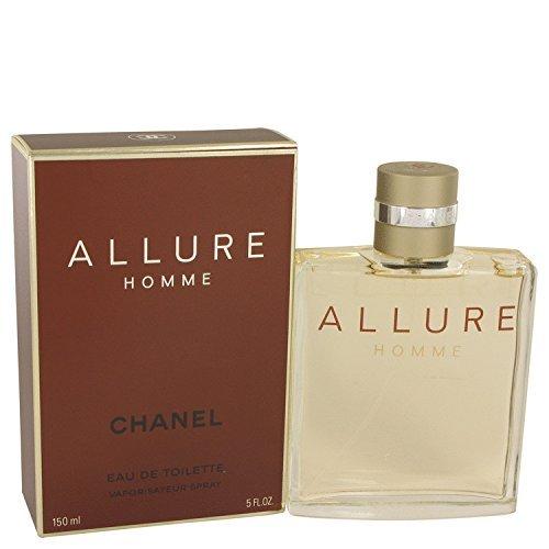 Chänel Allurë Cölogne For Men 5 oz Eau De Toilette Spray +FREE VIAL SAMPLE - Allure Chanel By