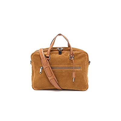 delicate Marc by Marc Jacobs Men's Embossy Suede Johnny Briefcase