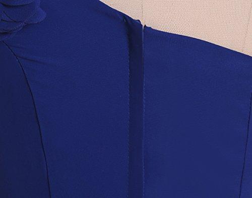 Maxi Rot Partykleid Schulter A Tochter Linie Mutter Abendkleid Mit Gürtel Brautjungkleid KekeHouse® Ein Blumenmkleid Kristall Geblümtes pOZxI