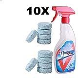 Dewin Spray Efervescente Multifuncional Spry Cleaner Set con Botella, para la Limpieza del hogar, 10pcs / Set