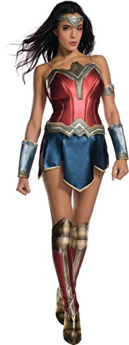 Secret Wishes Women's Wonder Woman Adult Costume, As Shown, Medium (Wonder Woman Adult Costumes)