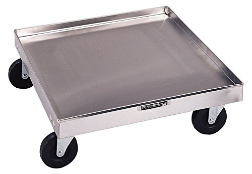 Lakeside 447 Stainless Steel Cup/Glass Rack Dolly, No Handle - 200 Lb Capacity