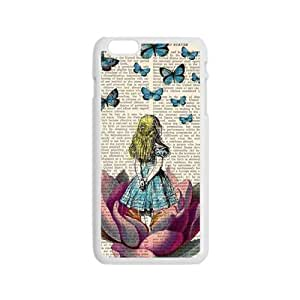 Butterflies lovely girl Cell Phone Case for Iphone 6