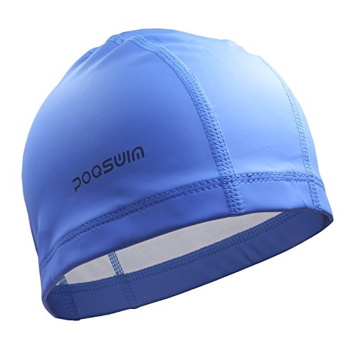 Lycra Swim Cap With PU Coat - Caps Swim Nylon