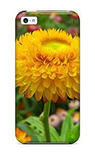 High-quality Durability Case For Iphone 5c(yellow Flowers)