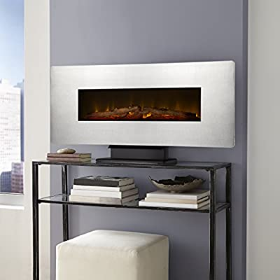 "Muskoka 42"" Wall Mount Electric Fireplace-Zinc"