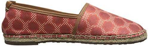 Sebago on Women's M Canvas Print 5 Us Darien Red Slip Oxford 8 AwBgqAxr4a