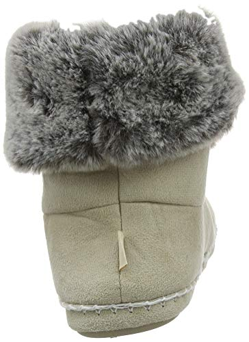 Suedette Chaussons Montants Nat Bootie Femme Ecru Totes Fur natural Ladies Slipper aCqPn5w