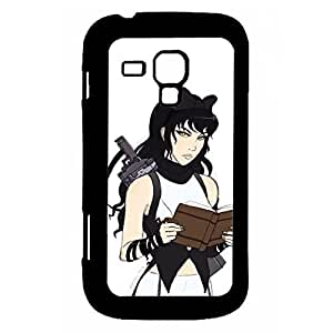 Hipster Back Phone Covers For Teen Girls Custom Design With Rwby Blake Belladonna For Samsung Galaxy Trend Duos Choose Design 1