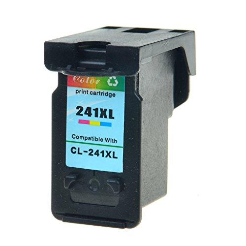 SuperInk 1PK Color Remanufactured Ink PIXMA MX & MG Printers CL-241xl CL 241XL Cartridge