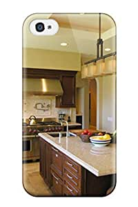New Diy Design Warm Transitional Kitchen With Island And Tray Ceiling For Samsung Galaxy S3 I9300 Case Cover Comfortable For Lovers And Friends For Christmas Gifts