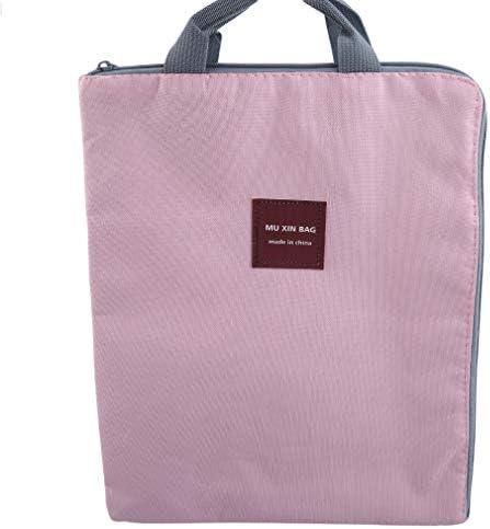 ブリーフケース ファイルバッグ a4 携帯用 ファイル専用 ジッパー 多機能 多層 通勤