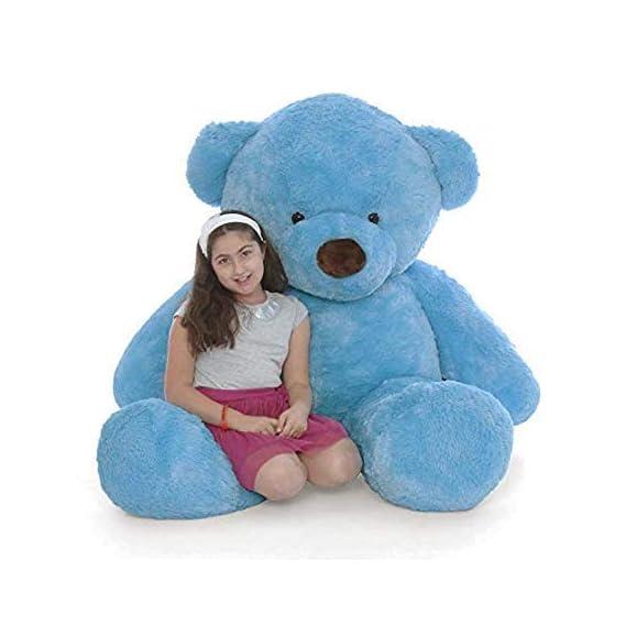 TedsTree 3 feet Jumbo Blue Teddy Bear Very Soft and Fluffy