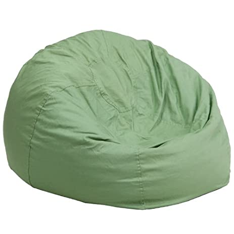 Flash Furniture Oversized Solid Green Bean Bag Chair