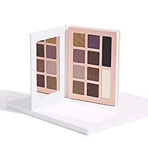 Honest Beauty Eyeshadow Palette with 10 Pigment-Rich Shades   Paraben Free, Talc Free, Dermatologist Tested & Cruelty Free   0.67 oz.
