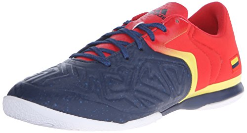 adidas Performance Men's X 15.2 CT Soccer Shoe,Collegiate Navy/Vivid Red/Yellow,8.5 M US