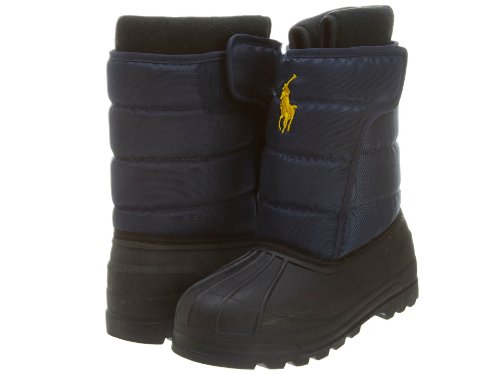 Polo Ralph Lauren Vancouver EZ (GS) Boys Snow Boots 95411-GS Navy 6 M US by Polo