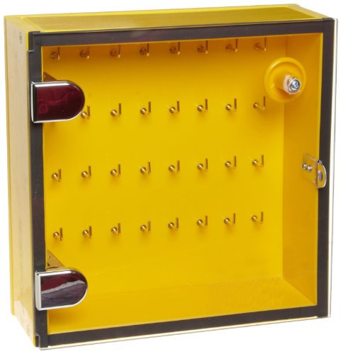 North Safety Key Storage Module, Stores Up To 64 Keys, 10'' Length, 10'' Width, 6'' Height by Northfifteen